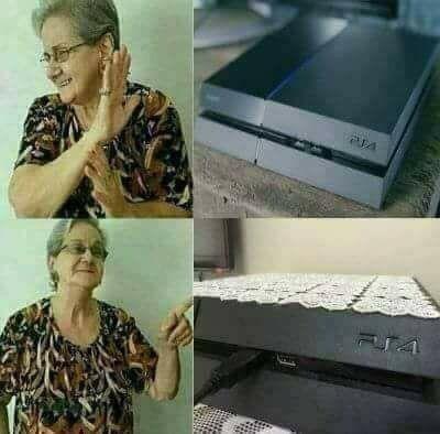 así son las abuelas - meme