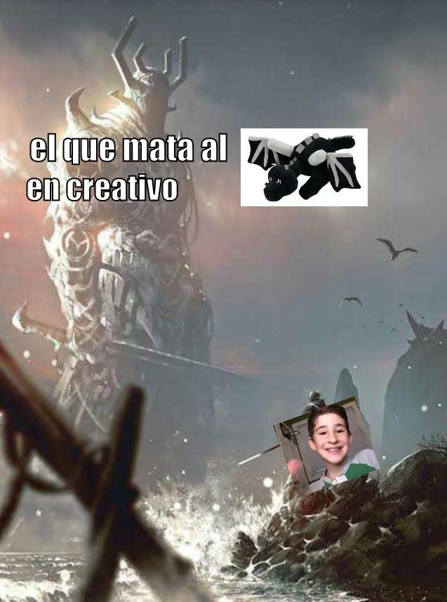 Nada en contra del niño sólo quería hacer un meme xd