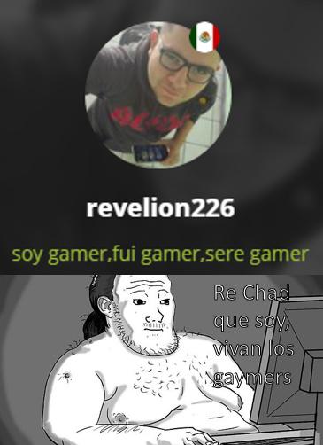 No tengo ningún problema con que seas gamer, mi problema está en que te la autochupes diciendo que eres gamer - meme