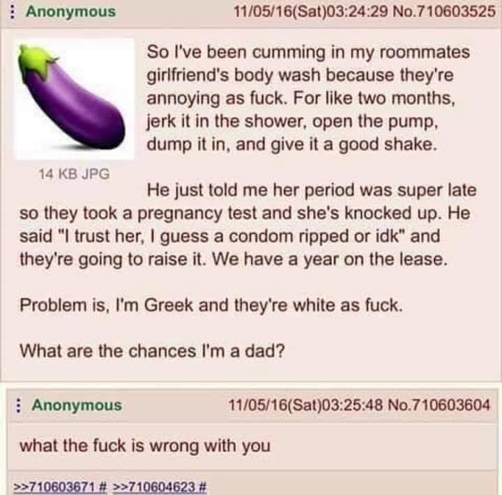 Anon plays with fire, gets burned - meme