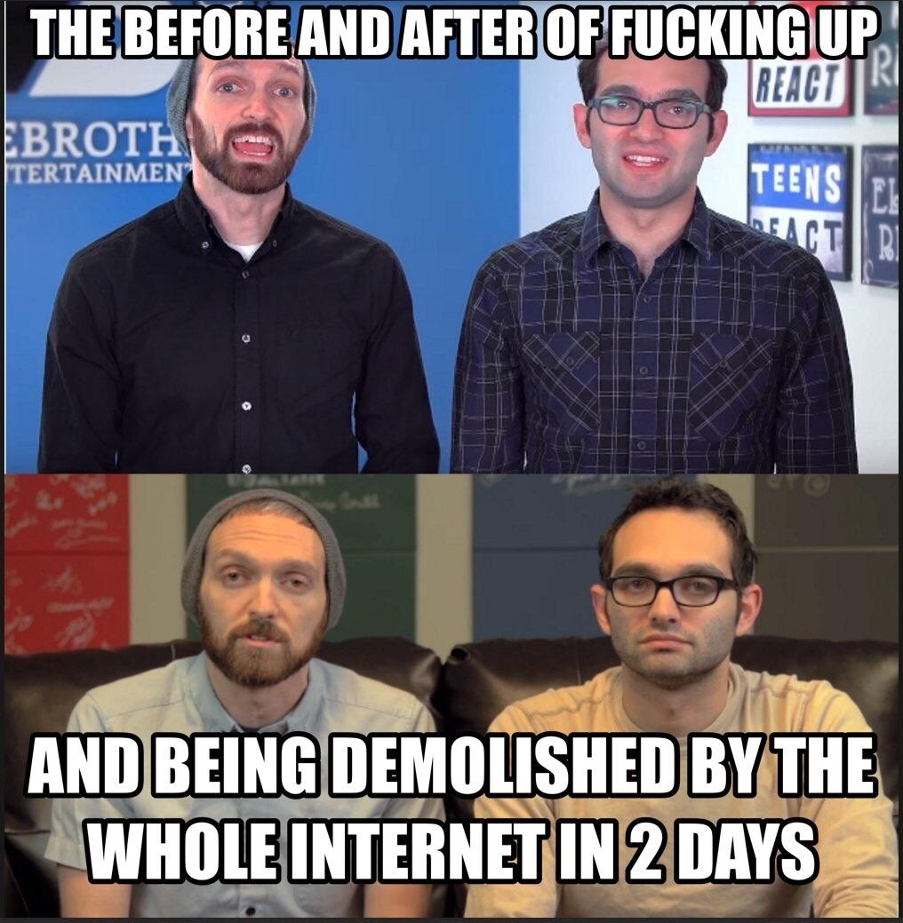 R.I.P. The Fine Bros - meme