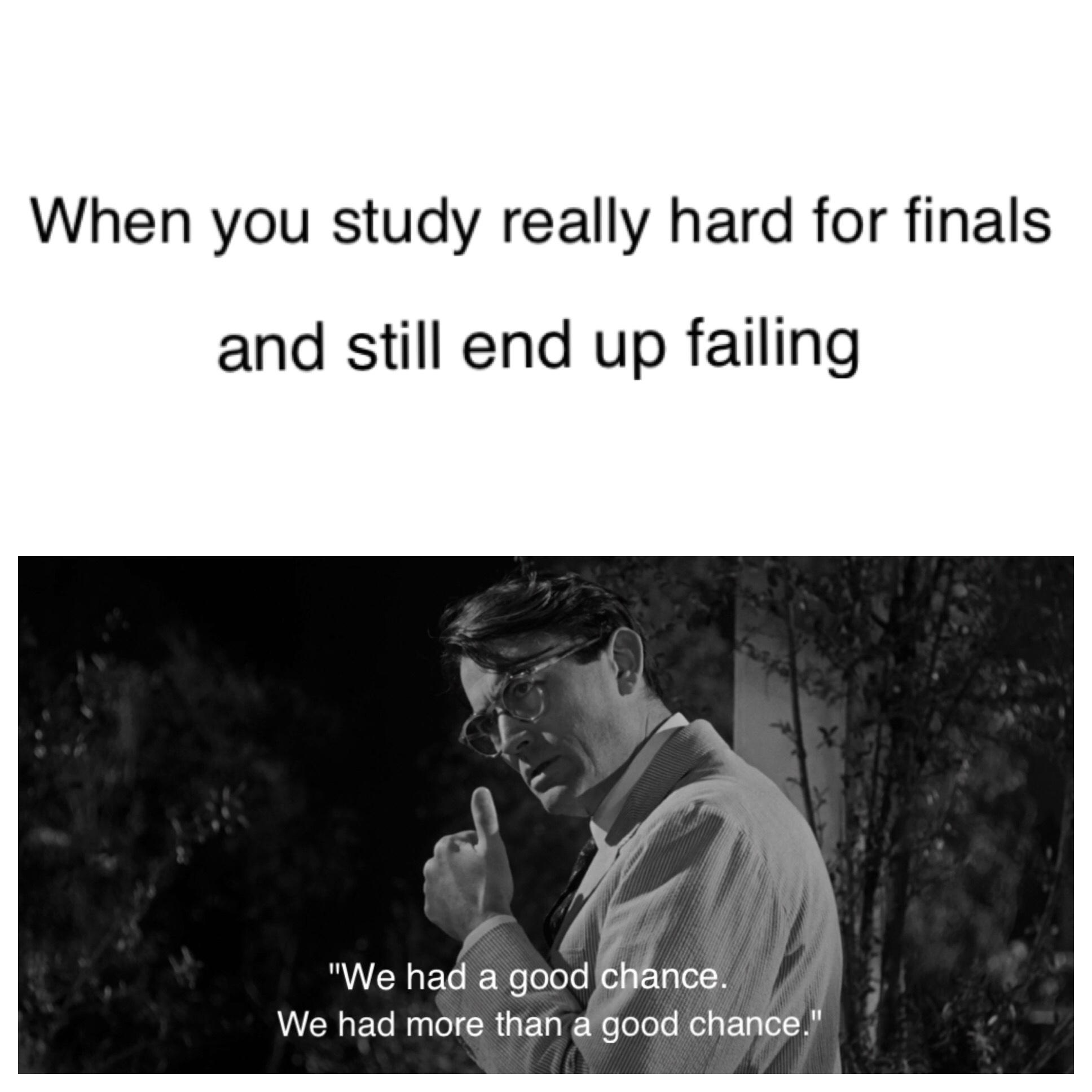 I'm so happy finals are over - meme