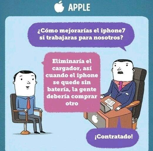 Apple y sus estrategias de negocio - meme