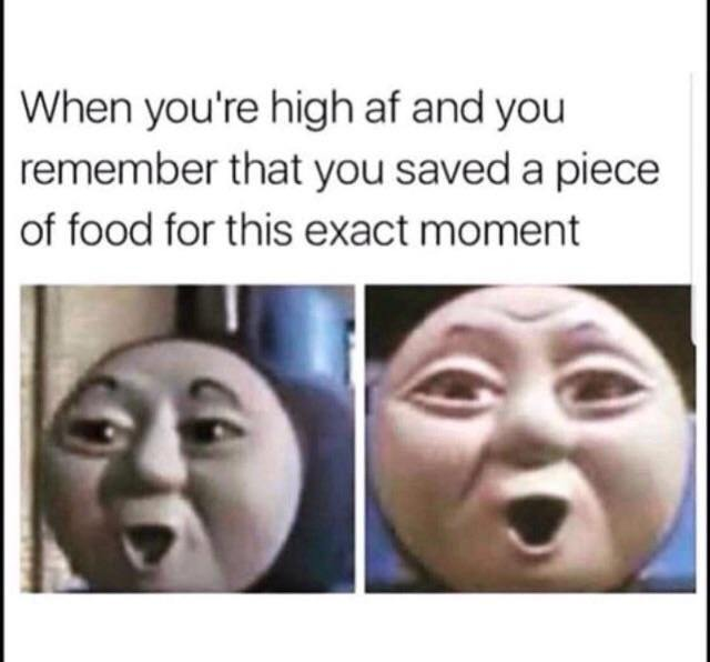 Food for when you are high - meme