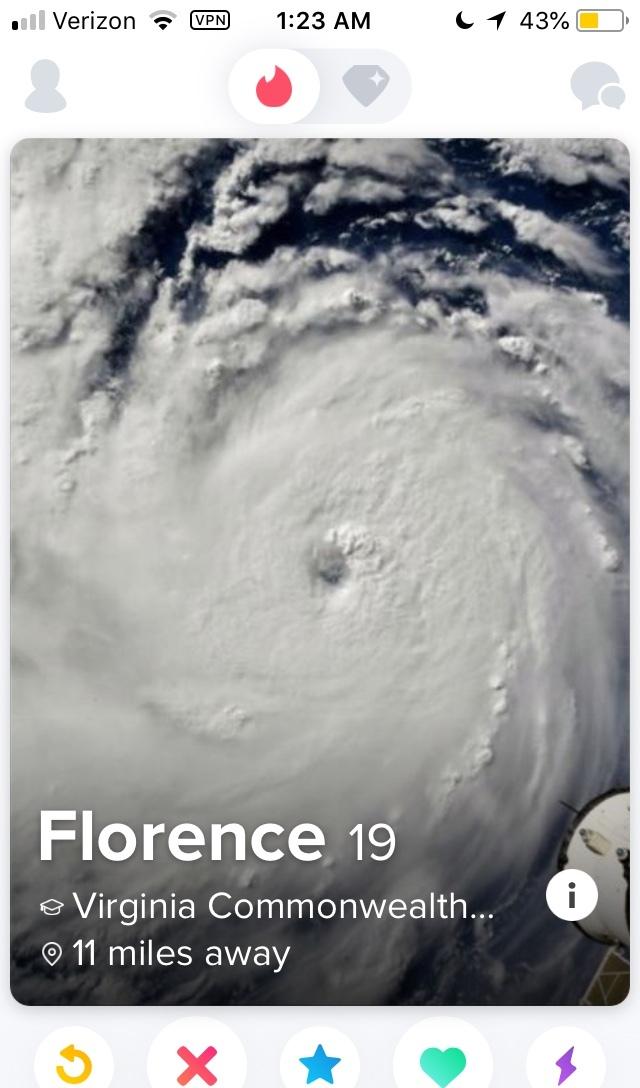 Florence is thirsty AF - meme
