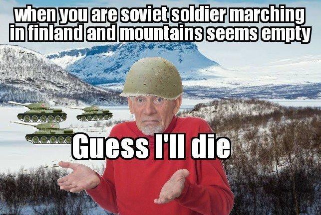 Suomi Strong! - meme