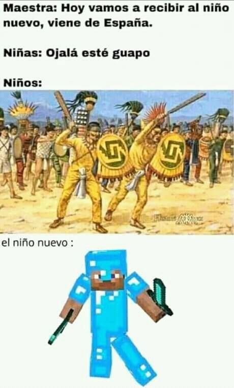 Lo saque de facebook del calvo de minecraft - meme