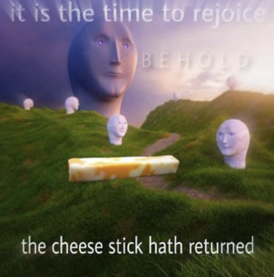 Rejoice comrades - meme