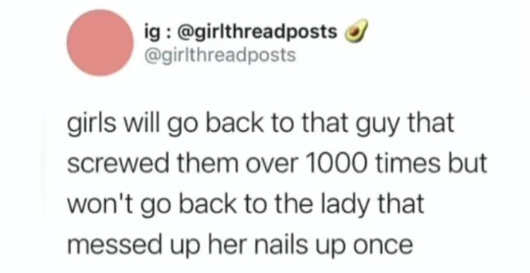 Nails - meme