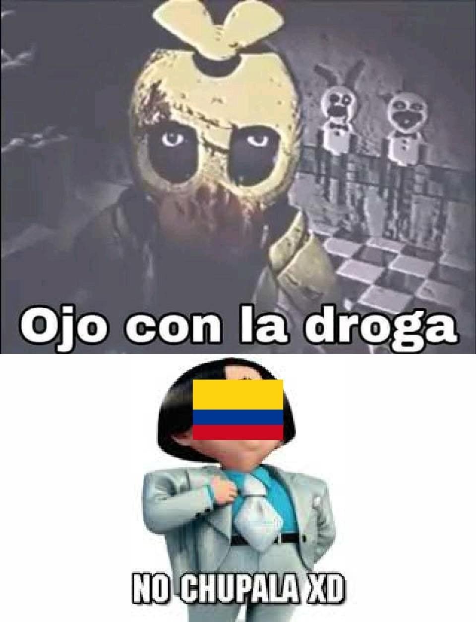 Colombia: no chupala - meme