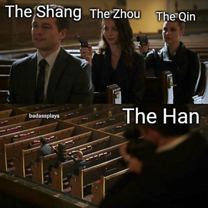 Chinese Dynasties Part 1 - meme