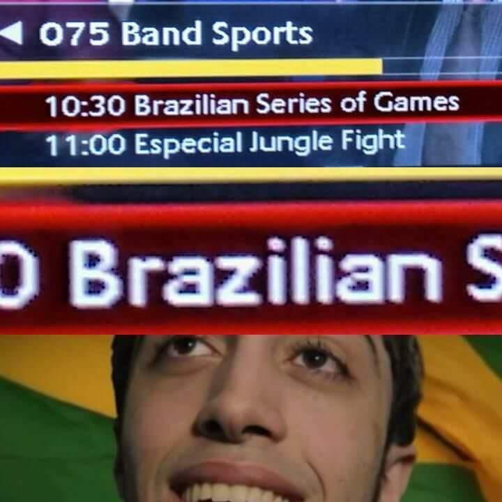 Vai brazilian (essa tira dessa vez n foi original, n sei se é repost) - meme