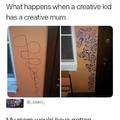 Creative mom