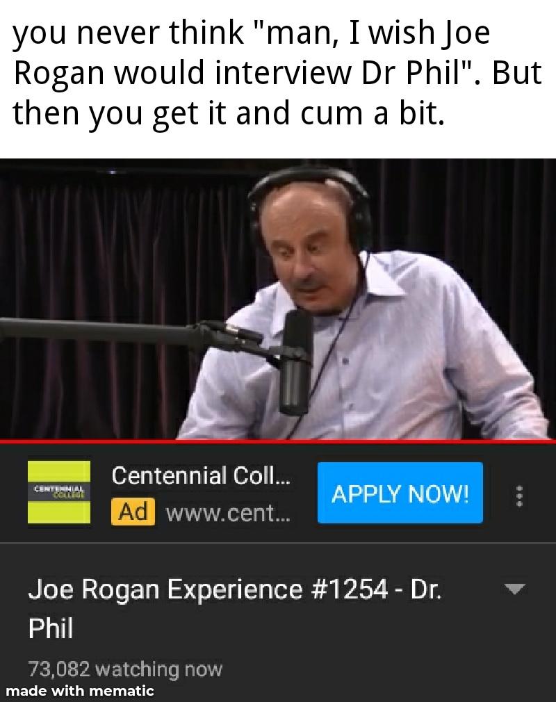 Joe phil cum show - meme