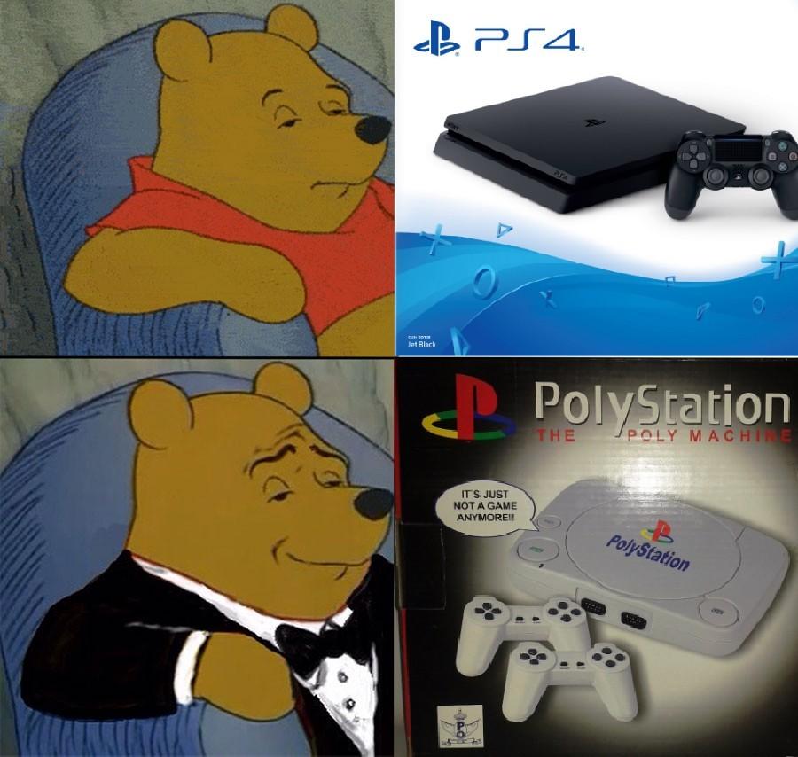 La PolyStation XD - meme