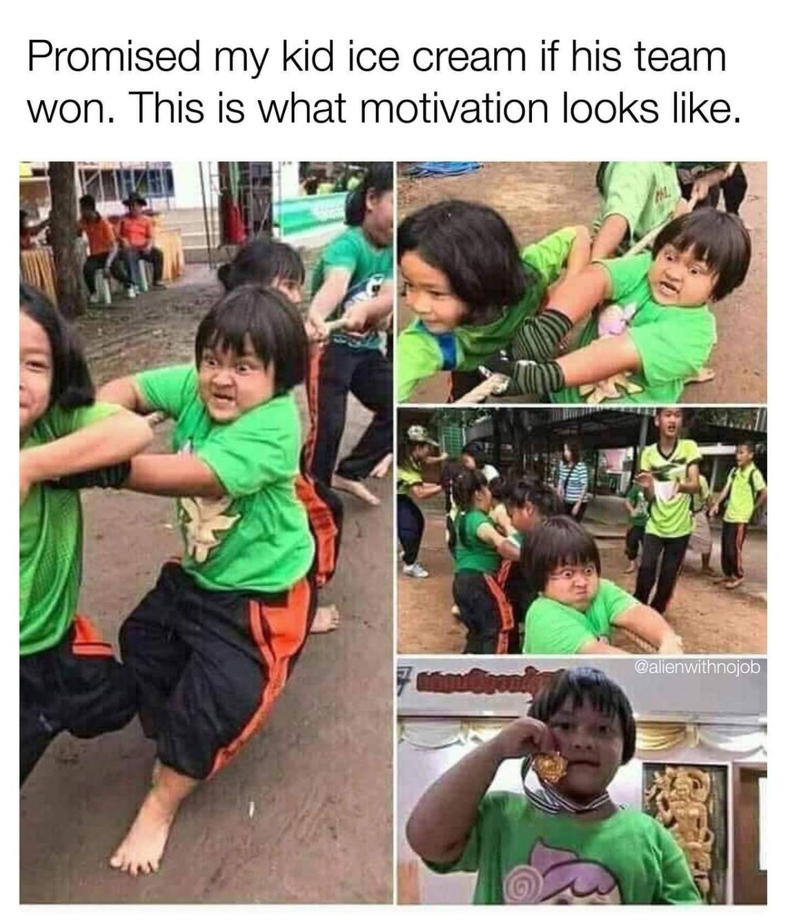 This kid is on crack. - meme