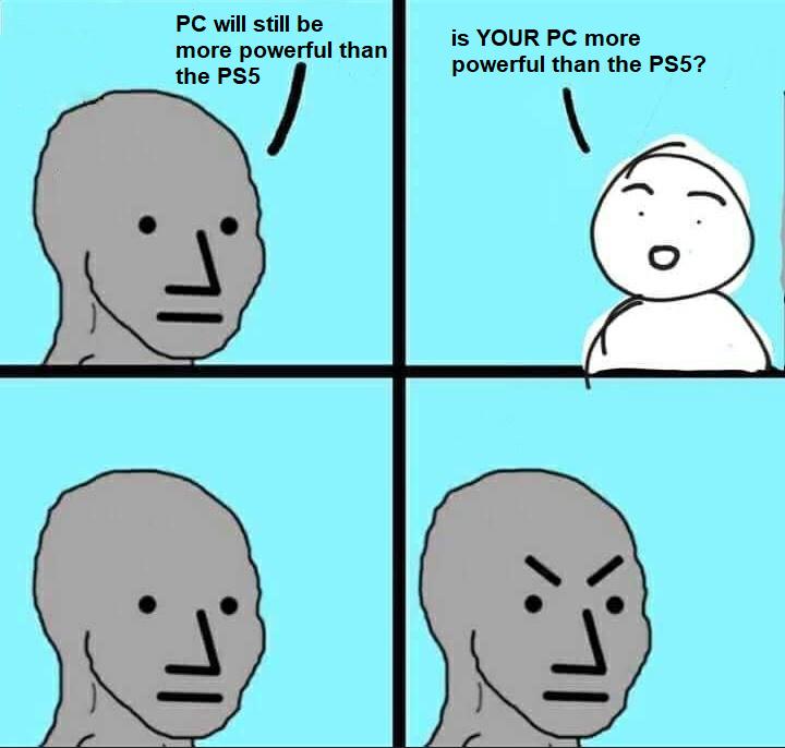 Master Race Fail - meme