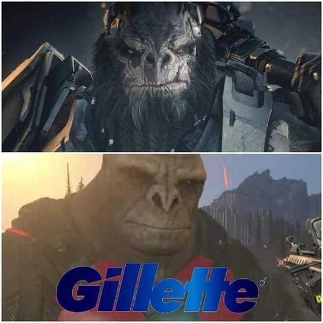 Gillete - meme