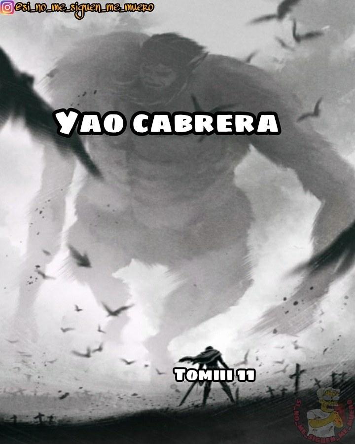 Tomiii 11 vs yao cabrera - meme