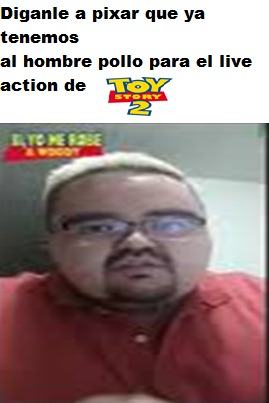 ES EL SEÑOR POLLO - meme