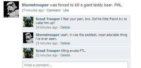 Ewok killer - meme