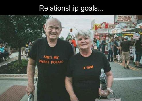 Relationship goals - meme