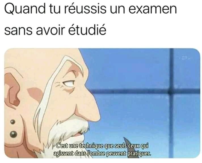 Génie - meme