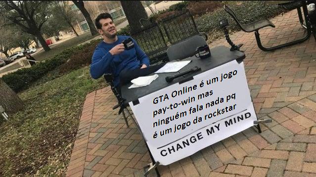 Me mude de ideia - meme