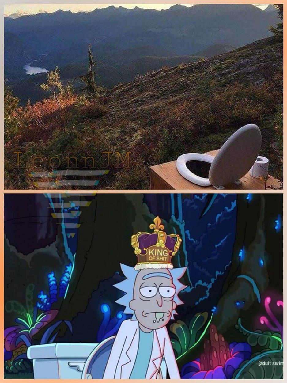 El rey de la mierda - meme