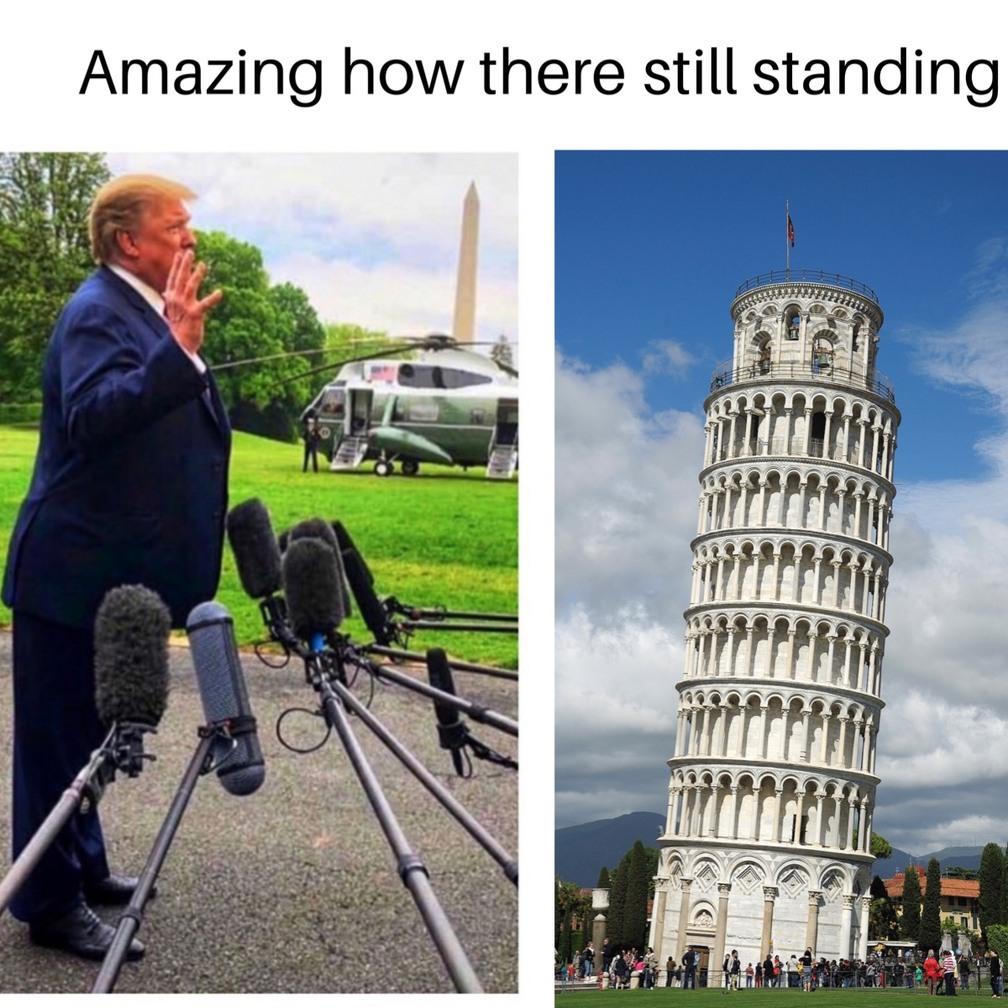 still standing - meme