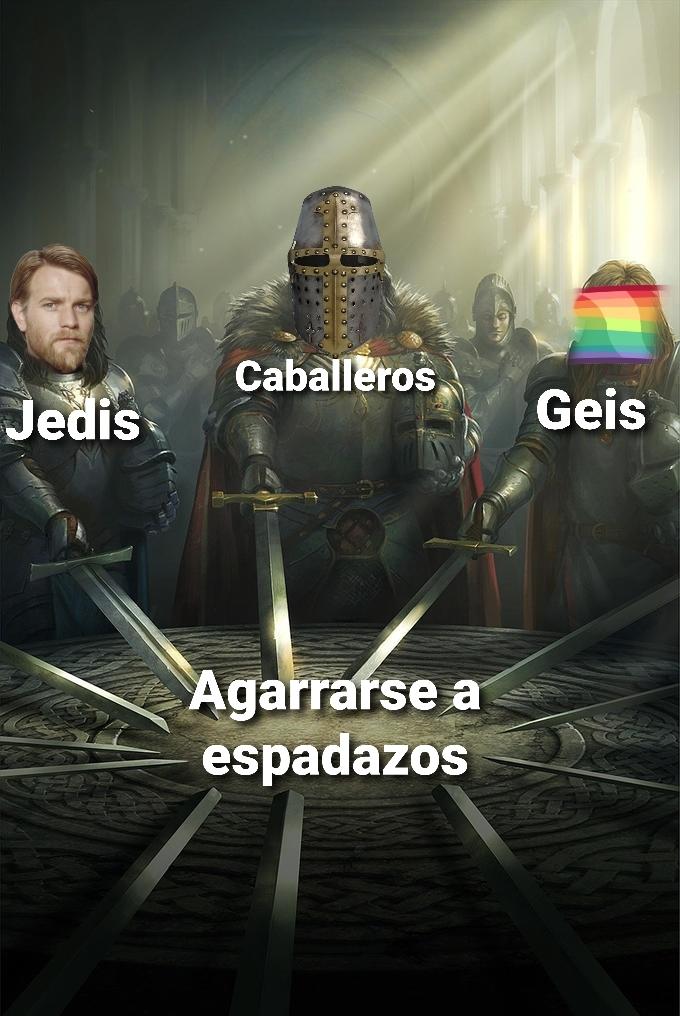 Espadazos - meme