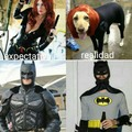 Batman y Black Widow fail