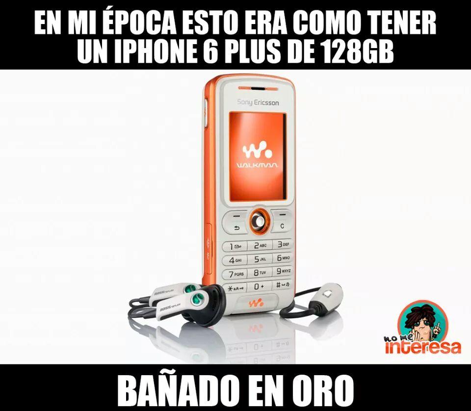Y el Flip Phone era la puta madre - meme