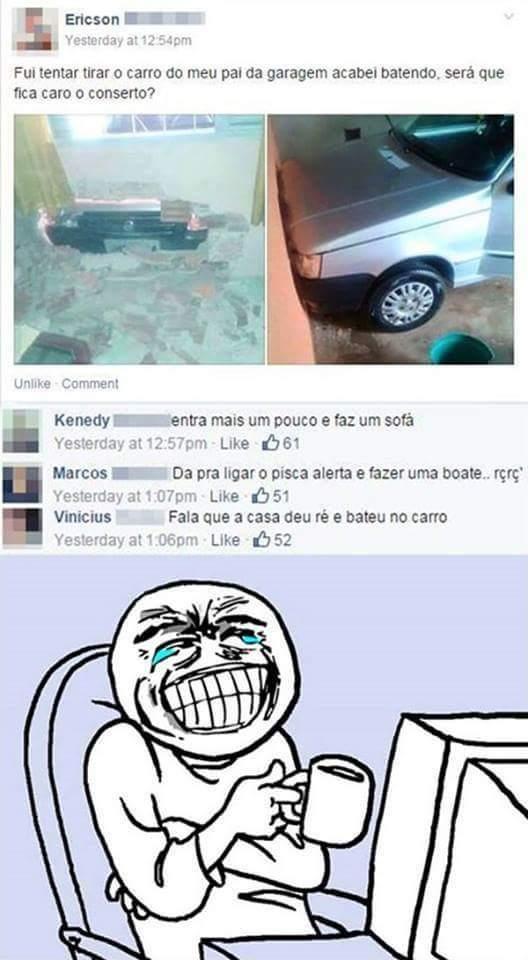 QUEM SENTAR FICA COM FOGO NO RABO - meme