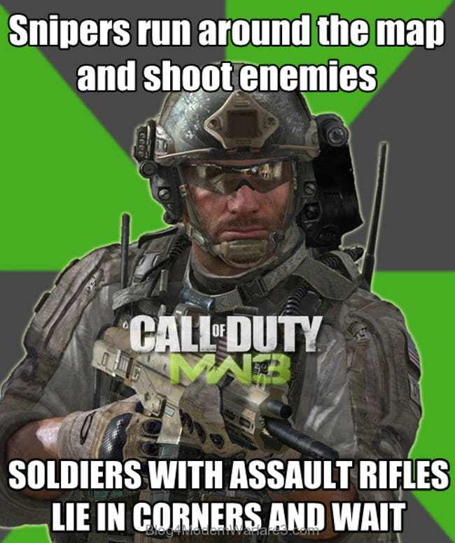 Call of duty basics - meme