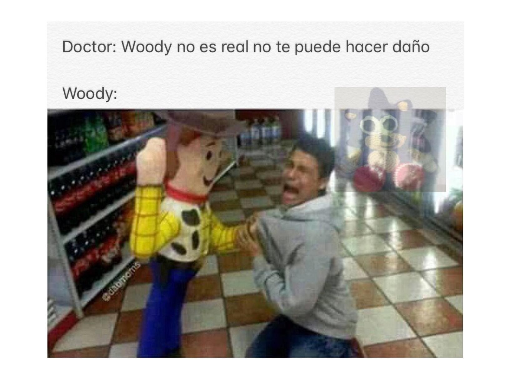 Woody,(lo busque en Google y creo que se escribe así) - meme