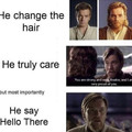 Find you a man who says hello there