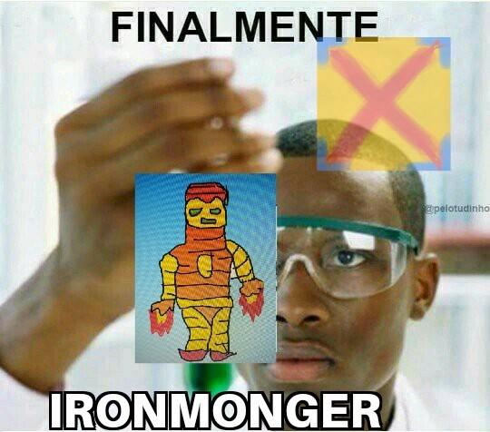 Iron Monger - meme