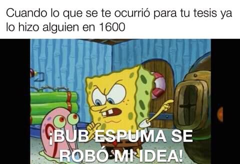 Maldito bub espuma - meme