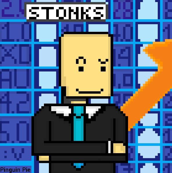 When haces tus momazos en pixel art y ganas un monton de positivos: - meme
