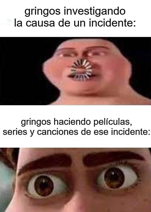 joder, odio a los gringos - meme