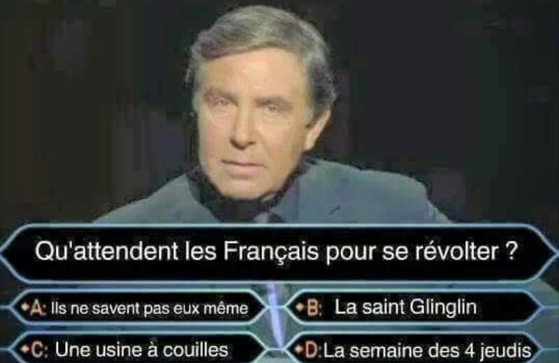 Remplacez francais par juif (666 upc bro) - meme