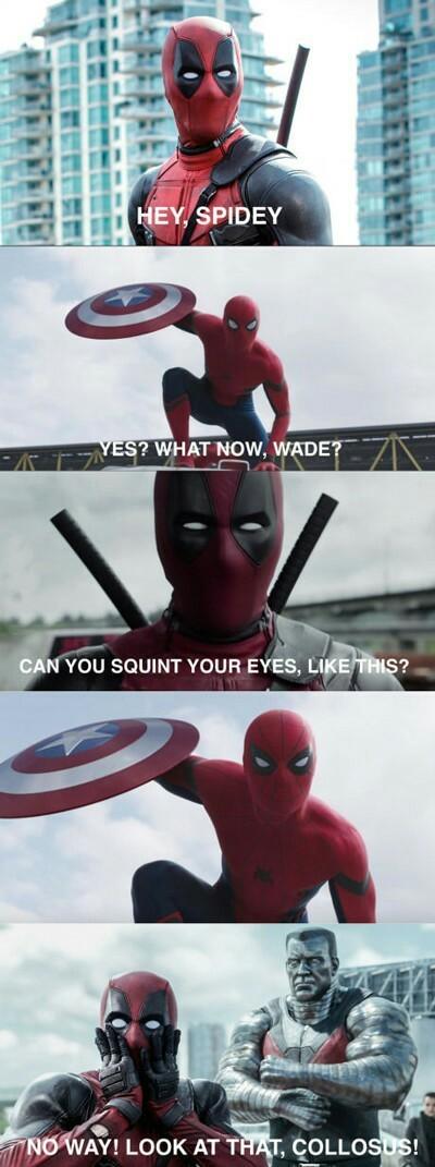 Squint for me - meme