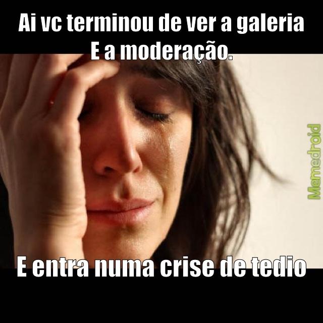 Crise mesmo ;-; - meme