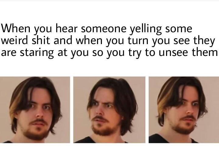 The horror.... - meme