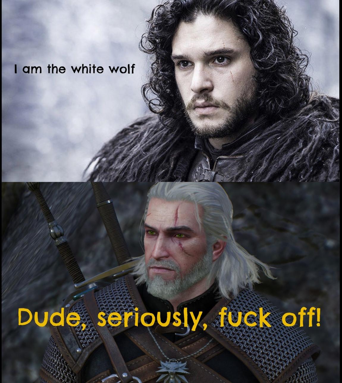 Gerlat vs Jon - meme
