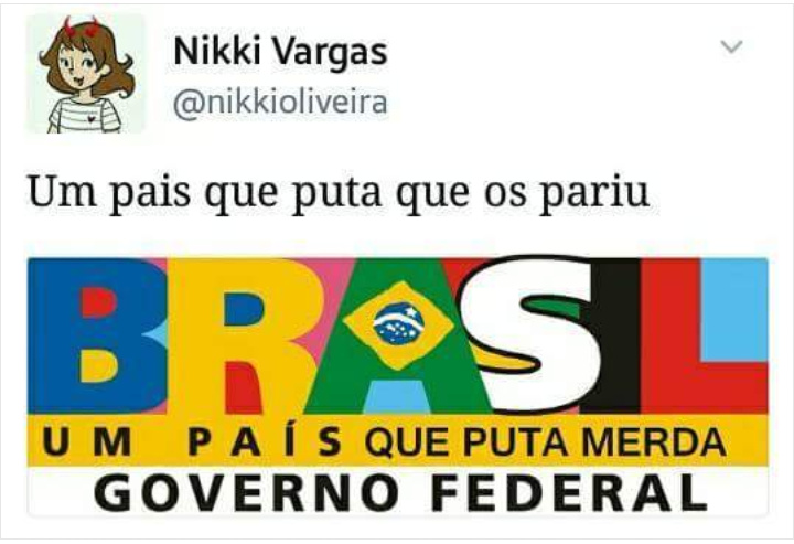 Esse é o Brasil - meme
