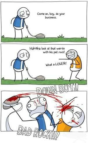 Bad Rocky - meme