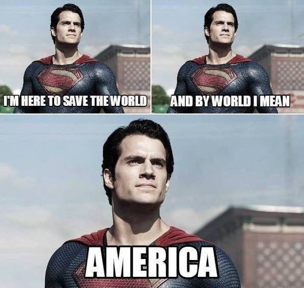 And by the World I mean America - meme