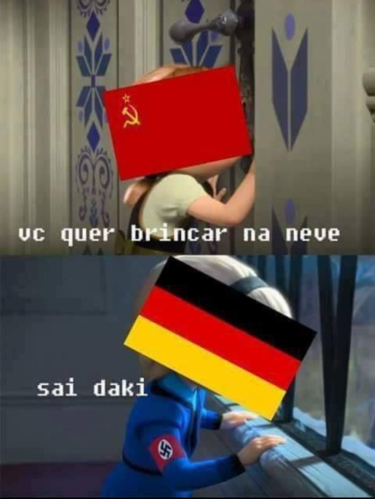 grande batalha - meme